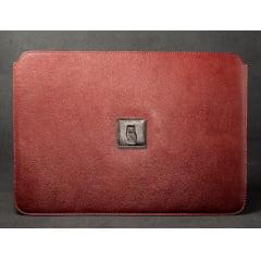 Case para Macbook couro Denver whisky - Macbook Air 13' polegadas
