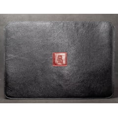 Case para Macbook couro Denver Preto - Macbook Air 13' polegadas